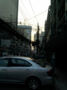 Overhead Wires on Dhaka Streets
