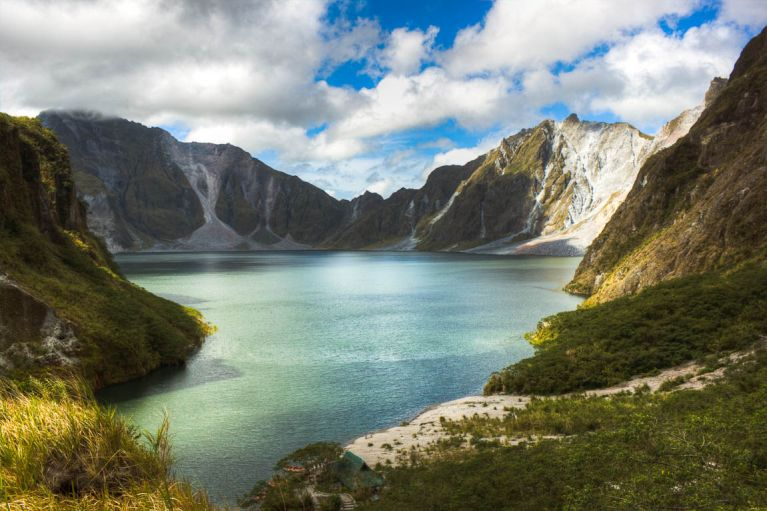 Crater Lake at Mt. Pinatubo
