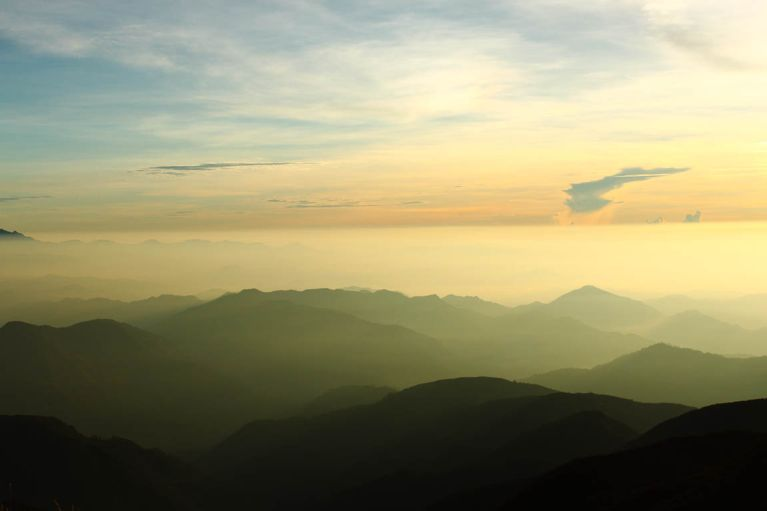Sunrise at Mt.Pulag
